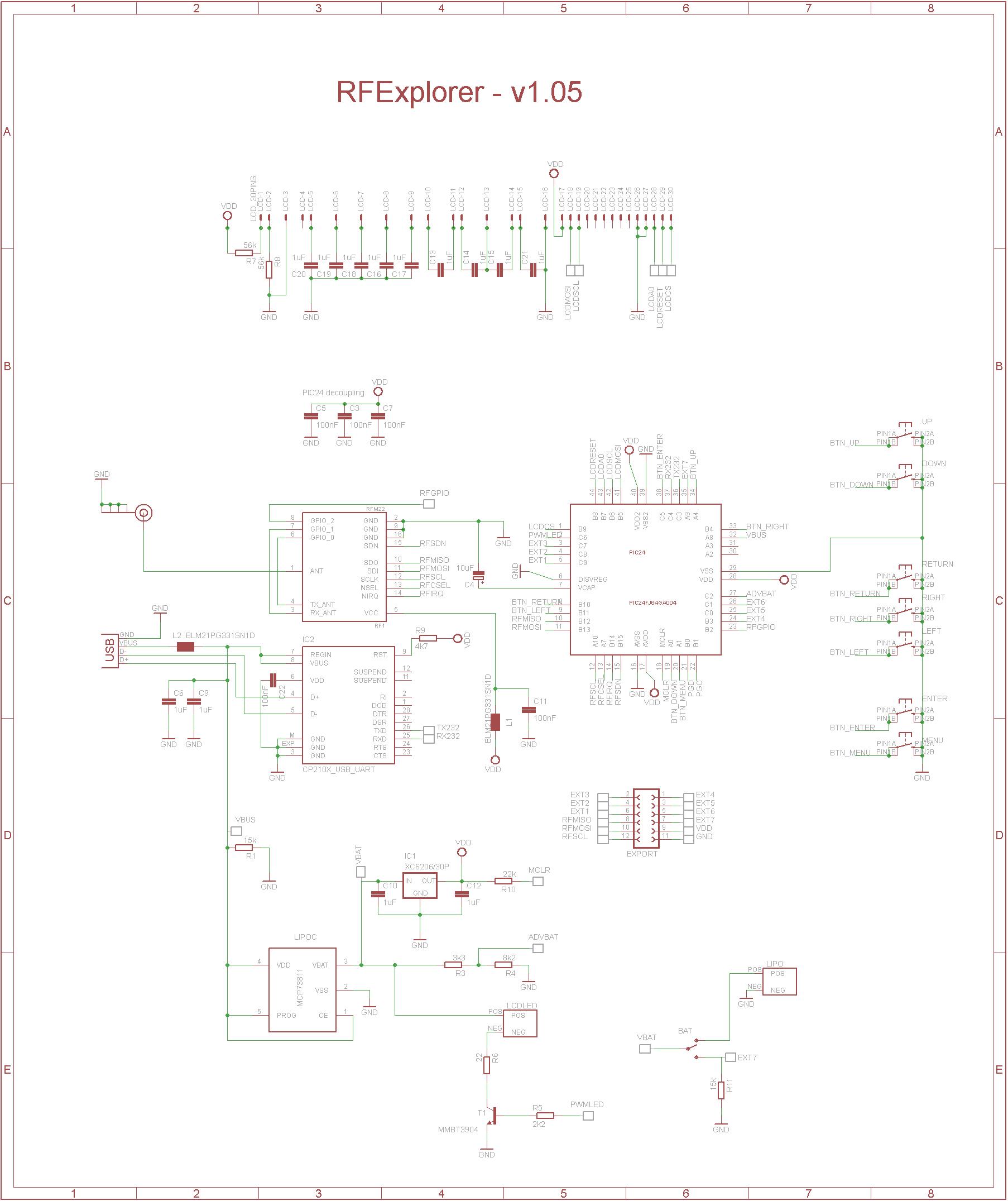 rf explorer schematics - rfexplorer